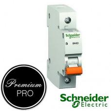 Автоматический выключатель Schneider Домовой ВА63 1П 25А С 11205