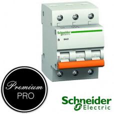 Автоматический выключатель Schneider Домовой ВА63 3П 40А С 11227