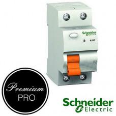 Дифференциальный выключатель (УЗО) Schneider Домовой ВД63 2П 40А 30мА арт.11452