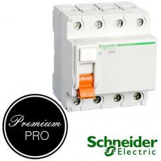 Дифференциальный выключатель (УЗО) Schneider Домовой ВД63 4П 40А 300мА арт.11465