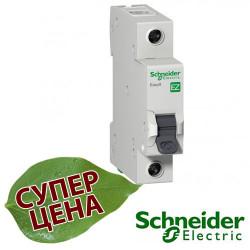 Автоматический выключатель Schneider EASY9 1П 10А С EZ9F34110
