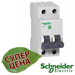 Автоматический выключатель Schneider EASY9 2П 10А С EZ9F34210