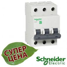 EZ9F34350 Автоматический выключатель Schneider EASY9 3П 50А С