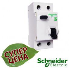 EZ9D34610 Дифференциальный автоматический выключатель Schneider EASY9 (УЗО) 1Р+N 10А 30мА