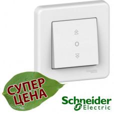 LNA1300521 Выключатель управления жалюзи Schneider Leona Белый