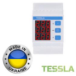 Реле защиты от скачков напряжения TESSLA 3П 10А DF3