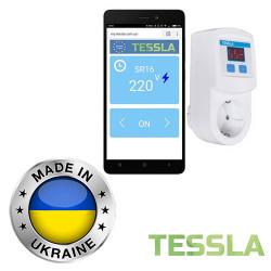 Реле напряжения Умная розетка TESSLA SR16 Wi-Fi